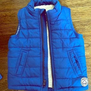 Gap Fleece Lined Puffer Vest